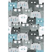 Kusový detský koberec Kiddo 1079 blue