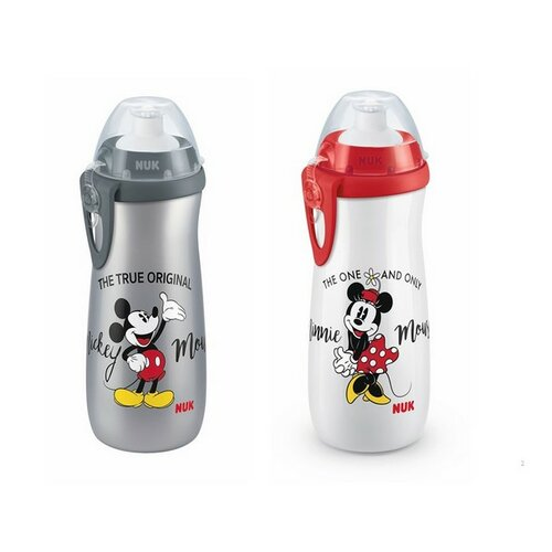 NUK First Choice Láhev Sports Cup DISNEY Mickey 450 ml