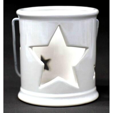Svícen na čajovou svíčku hvězda