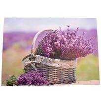 Tablou pe pânză cu levănțică Provence, 30 x 40 cm