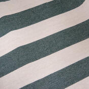 Závěsné křeslo s podložkou na nohy, zelená