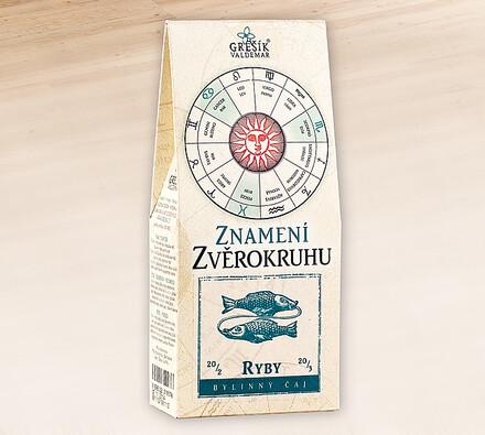 Valdemar Grešík bylinný čaj znamení ryby