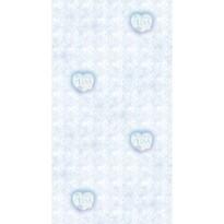Detská fototapeta Elsa modrá, 53 x 1005 cm