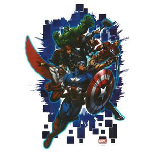 Samolepicí dekorace Avengers, 48 x 29 cm