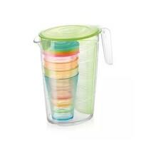 Tescoma Džbán s pohármi myDRINK 2,5 l, zelená