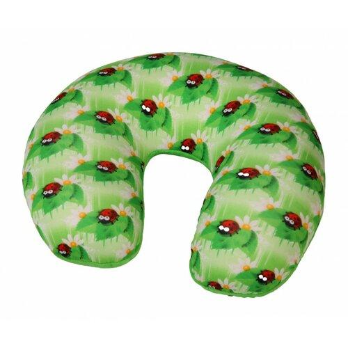 Modom Cestovní polštář podkova Berušky, zelená