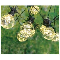 Zewnętrzny łańcuch imprezowy LED Bulbs, 10 żarówek
