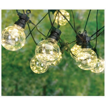 Instalație luminoasă LED Bulbs party, 10 becuri
