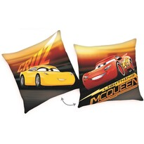 Poduszka Cars McQueen Cruz, 40 x 40 cm