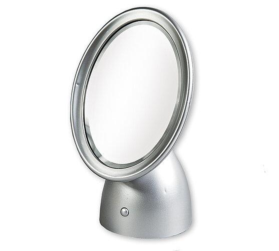 Kozmetické zrkadlo so svetlom