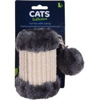 Ansamblu de joacă pentru pisici Cilinder, gri