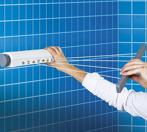 Zasúvací sušiak na bielizeň