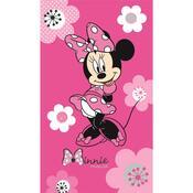 Osuška Minnie Pink Flowers, 70 x 120 cm