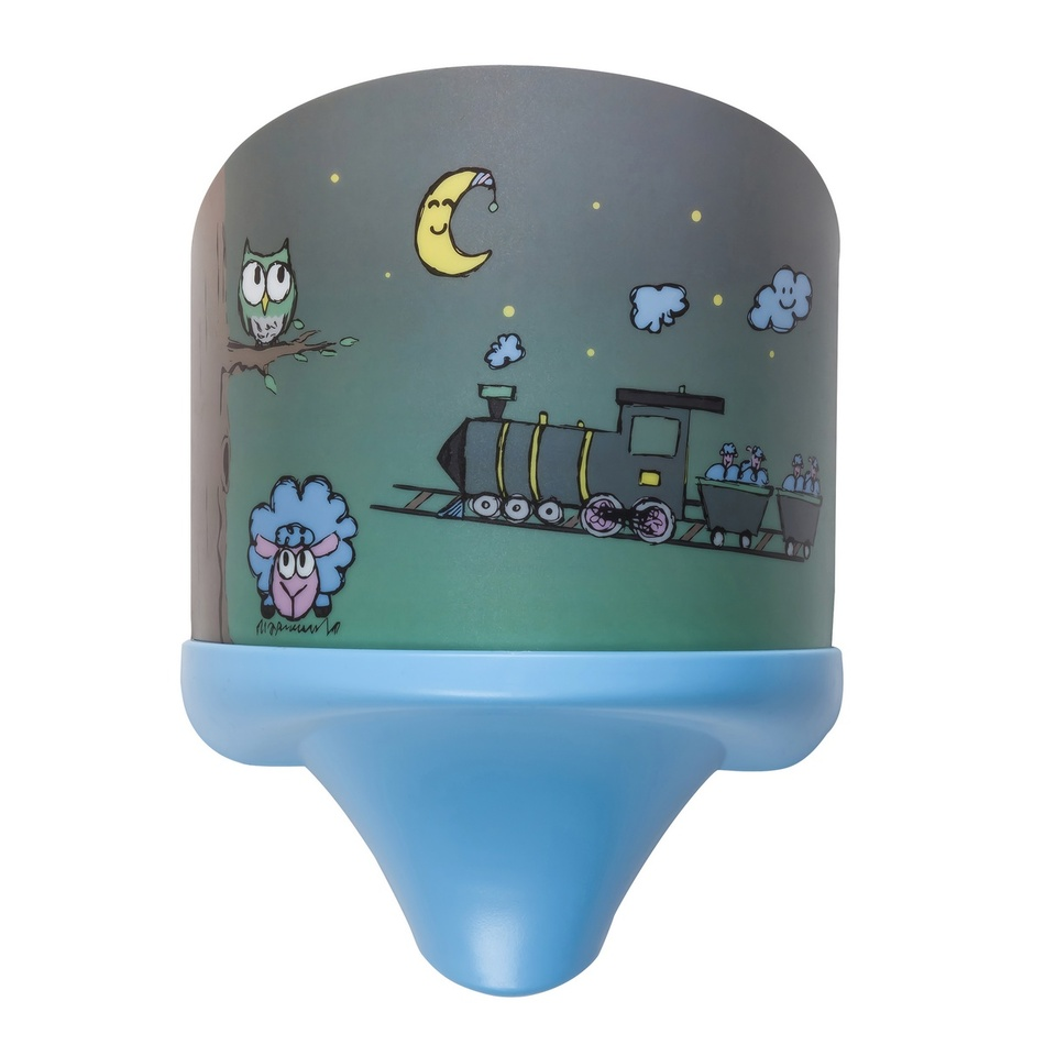 Rabalux 4569 Shepherd dětské nástěnné svítidlo, modrá