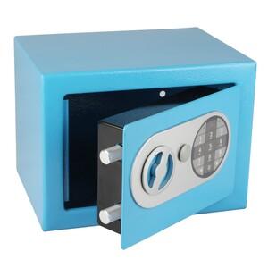 Richter Ocelový sejf s elektronickým zámkem, modrá