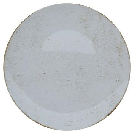 Dekorační talíř světle šedá, 40 cm