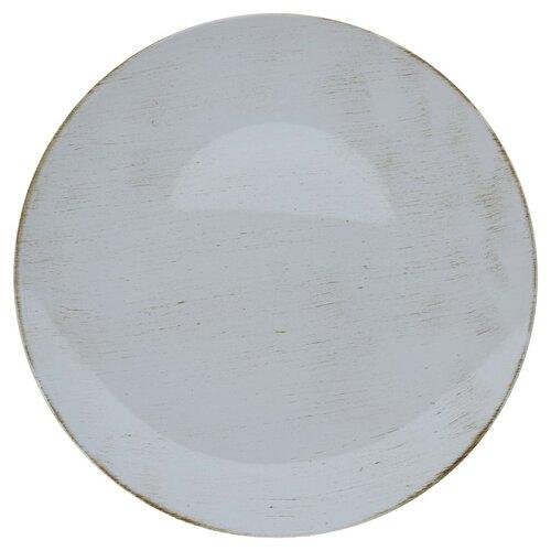 Dekoráció tányér világos szürke, 40 cm