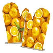 Rękawica kuchenna Pomarańcza, 28 x 18 cm, zestaw 2 szt.