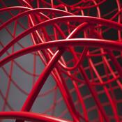Křeslo Icon 05, červené