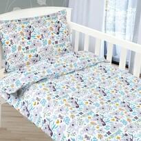 Bellatex Lenjerie de pat din bumbac pentru copii  Agáta Ursulețul koala, 90 x 135 cm, 45 x 60 cm