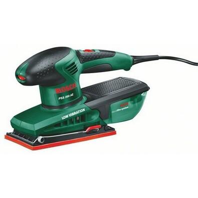 Vibrační bruska Bosch PSS 250 AE, zelená
