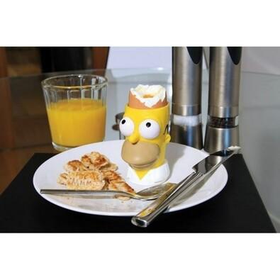 Kalíšok na vajcia + pečiatka na toast Simpsons