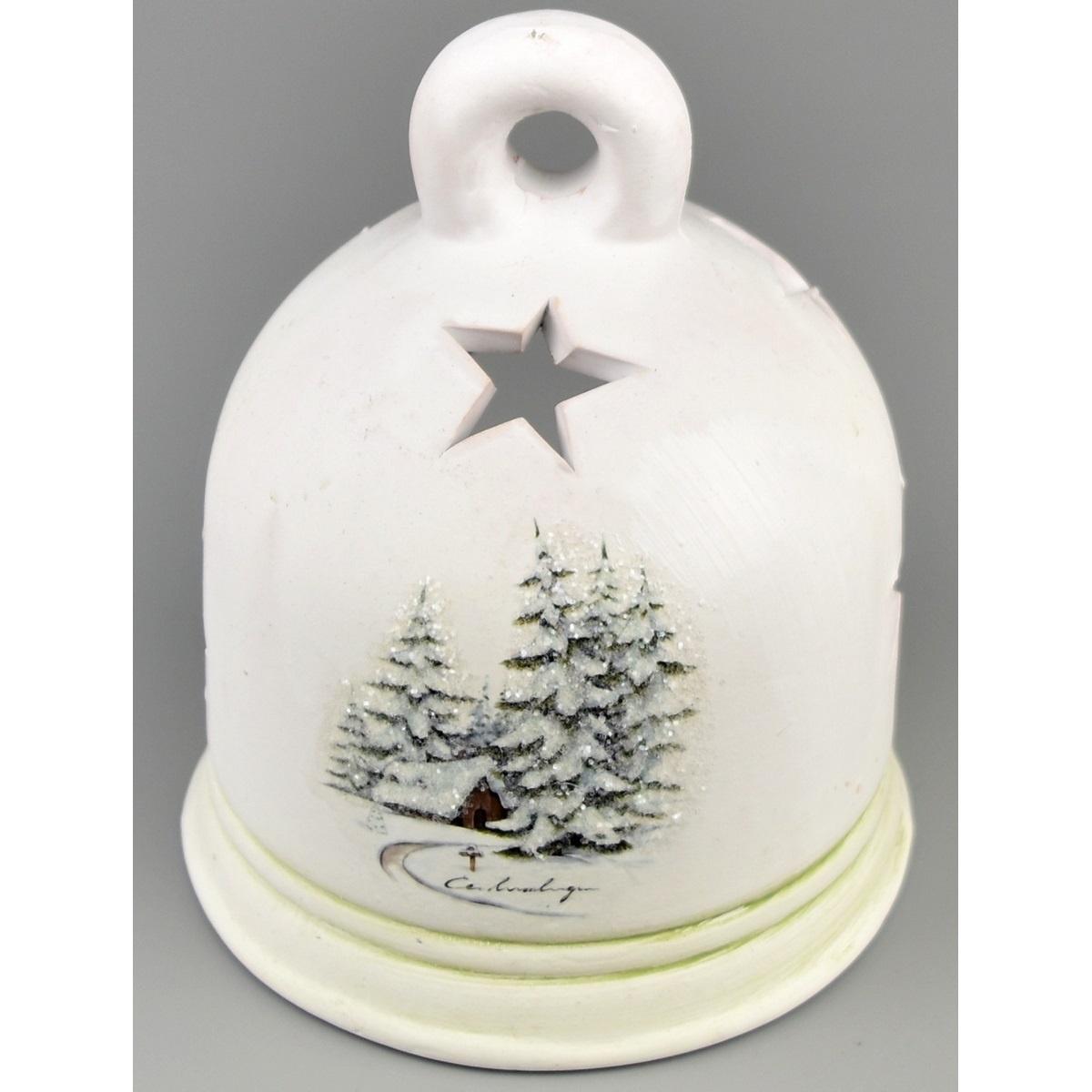 Vánoční svícen na čajovou svíčku Naple, 12 cm