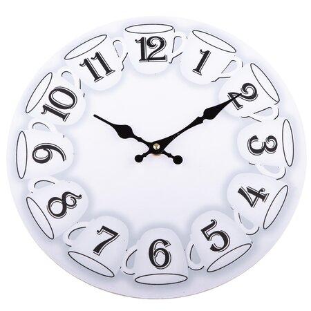 Nástěnné hodiny Cups, 34 cm