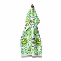 Domarex Ścierka kuchenna Folk zielona, 45 x 70 cm
