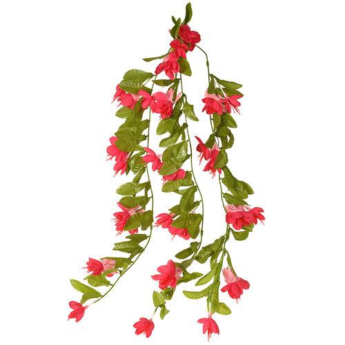 Fuchsia artificială, roz, 60 cm