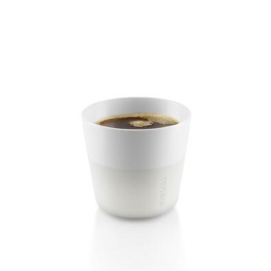Hrnek na kávu lungo 230 ml bílý, sada 2 ks