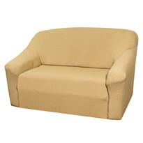 4Home Pokrowiec multielastyczny na sofę, beżowy Elegant, 140 - 180 cm