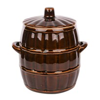 Oală ceramică cu capac Altom, 5 l