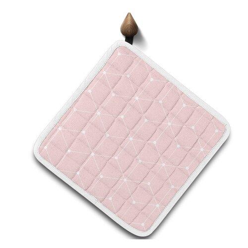 Domarex Kuchyňská podložka Cook&Fun růžová, 20 x 20 cm