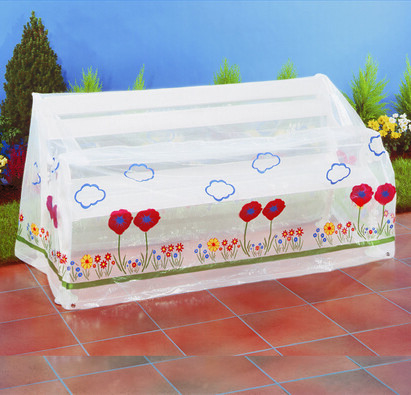Ochranná fólie na zahradní nábytek - lavice, transparentní, 157 x 73 x 76 cm