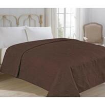 Prehoz na posteľ Royal hnedá, 220 x 240 cm