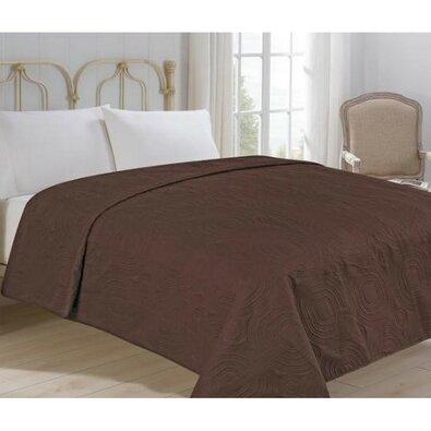 Royal ágytakaró, barna, 220 x 240 cm