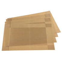 Harmonie alátét, arany, 30 x 45 cm, 4 db-os szett