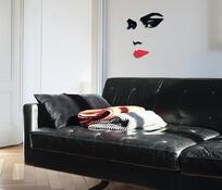 Samolepicí pěnová dekorace Tvář ženy