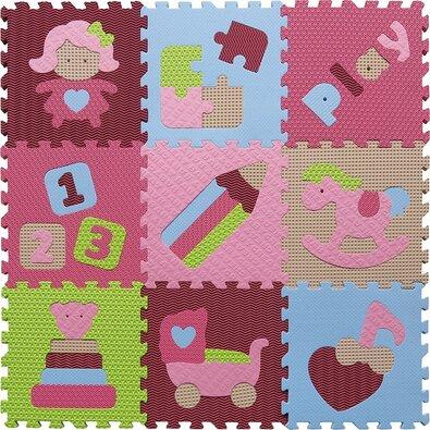 Baby Great Penové puzzle Dievčenské hračky SX (30x30)