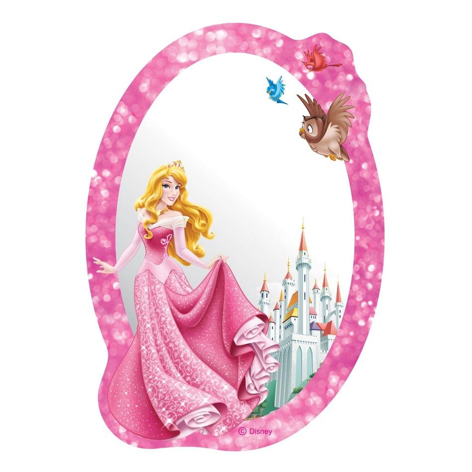 AG Art Samolepicí dětské zrcadlo Princezna, 15 x 21,5 cm