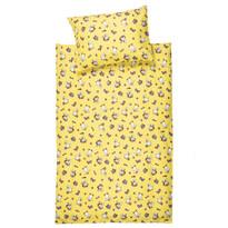 Detské bavlnené obliečky do postieľky Kačičky, 90 x 130 cm, 40 x 60 cm