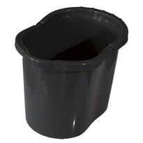 Vedro 13 litrov, oválne, sivá