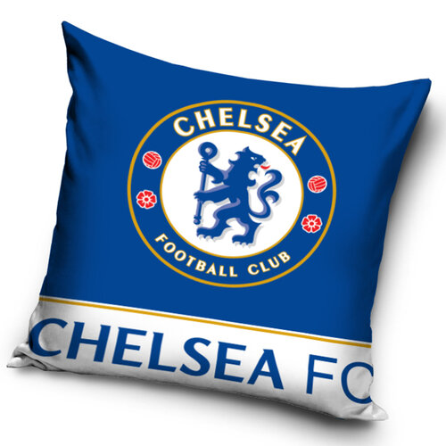 TipTrade Vankúšik FC Chelsea blue, 40 x 40 cm