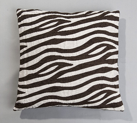Povlak na polštářek Zebra BO-MA 45 x 45 cm, bílá + černá, 45 x 45 cm