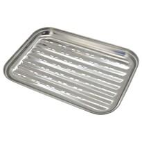 Cattara rozsdamentes acél grillező tálca, 34 x 24 cm
