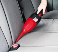 Autovysavač mini 12 V, červená