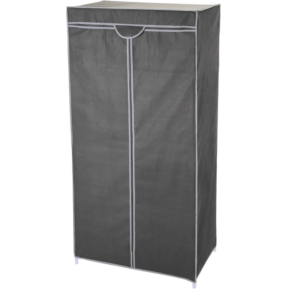 Textilná šatníková skriňa 75 x 45 x 160 cm