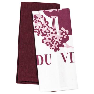 Kuchyňská utěrka Passion du Vin, 40 x 60 cm, 2 ks