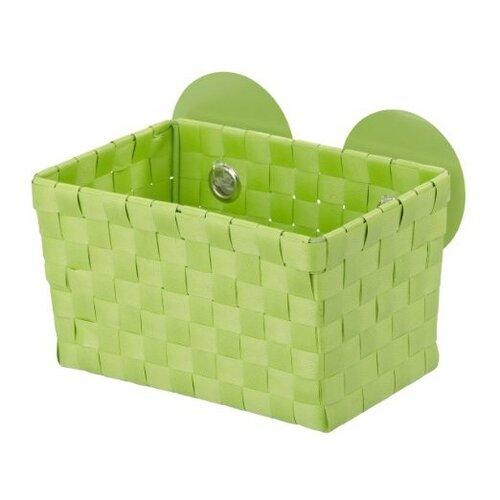 Wenko košík s prísavkami zelená,